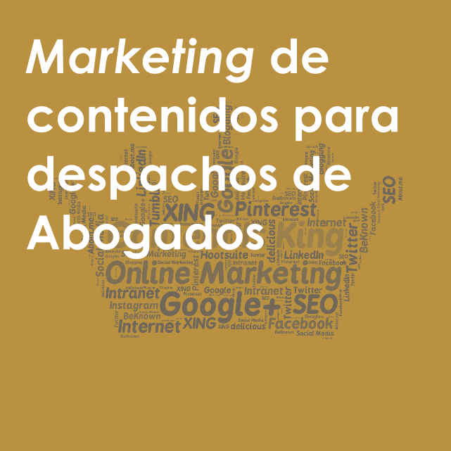 Marketing para despachos de Abogados - portada